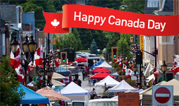 Canada day in Newmarket