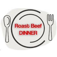 Fundraising Roast Beef Dinner