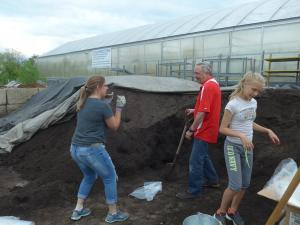 Soil Sale: pre-bagging